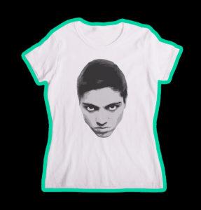 """Tricou alb, personalizat cu """"Unicitate"""" pentru fete"""