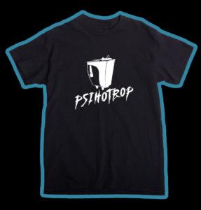 """Tricou negru, personalizat cu """"Logo"""" pentru băieţi"""