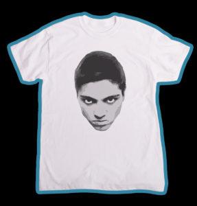 """Tricou alb, personalizat cu """"Unicitate"""" pentru baieti"""